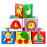 """Игровые кубики """"Мякиши"""" (Предметы) в асс-те, фото 1"""