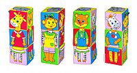 """Игровой набор """"Мякиши"""" из 3 кубиков """"Собираем по одёжке"""""""