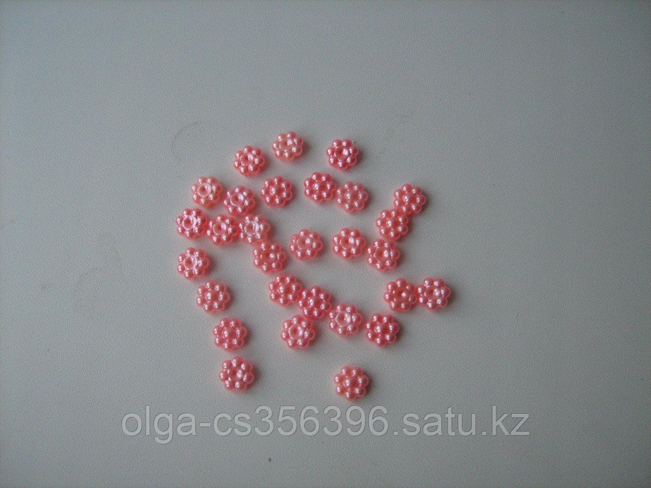 Кабошоны. Розовые. 10 мм. Creativ  1358