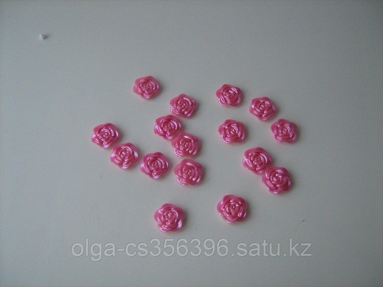 Кабошоны. Розовые. 14 мм. Creativ  1360