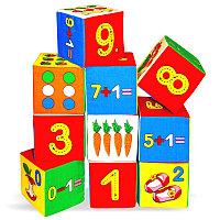 """Игровые кубики """"Мякиши"""" (Умная математика)"""