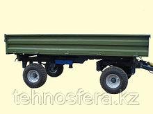 Тракторный прицеп 2ТСП-8 к тракторам МТЗ-82, грузоподъемность 6 т, объем 5,4 м3