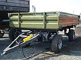 Тракторный прицеп 2ТСП-8 к тракторам МТЗ-82, грузоподъемность 6 т, объем 5,4 м3, фото 2