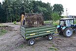 Тракторный прицеп 2ТСП-8 к тракторам МТЗ-82, грузоподъемность 6 т, объем 5,4 м3, фото 3