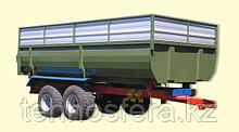 Тракторный полуприцеп с односторонней разгрузкойТСП-10 к тракторам МТЗ-82, грузоподъемность 8 т, объем 7-12 м3