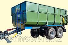 Тракторный прицеп ТСП-14 для тракторов МТЗ-1221 грузоподъемность 10,5 т, объем 10-17 м3
