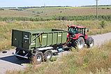 Тракторный прицеп ТСП-20 грузоподъемность 15 т, объем 20-27 м3, фото 3