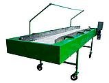 Инспекционный стол 1000х4000 с роликовым полотном, фото 3