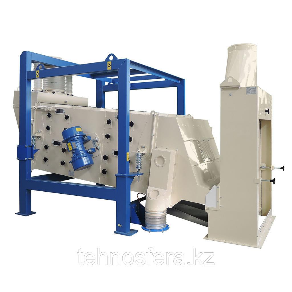 Сепаратор вибрационный зерновой PVT 800 JK Machinery