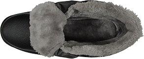 БОТИНКИ ЗИМА ФОРВАРД С МЕТАЛ.НОСОМ (искусственный мех), фото 2