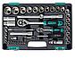 """(14106) Набор инструментов, 1/2"""", 1/4"""", CrV, пластиковый кейс 94 предм.// STELS, фото 2"""