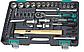 """(14104) Набор инструментов, 1/2"""", 1/4"""", CrV, пластиковый кейс 76 предм.// STELS, фото 2"""
