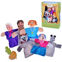 """Игровой набор Кукольный Театр """"Репка"""", 6 кукол, фото 1"""