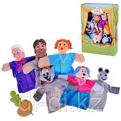"""Игровой набор Кукольный Театр """"Репка"""", 6 кукол"""