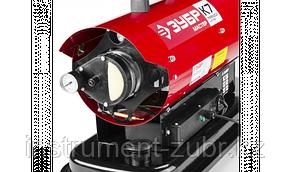Пушка дизельная тепловая, ЗУБР ДП-К7-15000, 220 В, 15 кВт, 300 м.куб/час, 18.5 л, 1.3 кг/ч, регулятор температуры, фото 2