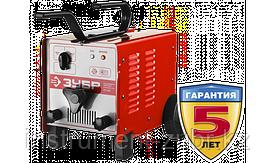 Трансформатор сварочный, ЗУБР ЗТС-200, 60-200 А, электрод 2-4 мм, ПН-10%, 380/220 В