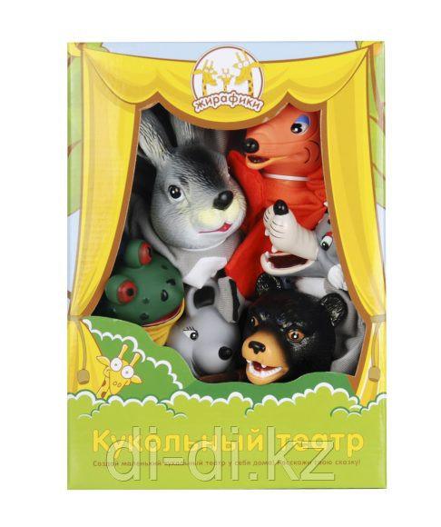 """Игровой набор Кукольный Театр """"Теремок"""" 6 кукол"""