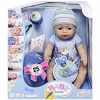 Baby born Интерактивная кукла-мальчик, 43 см