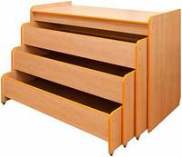 Кровать трехуровневая раздвижная в коробе
