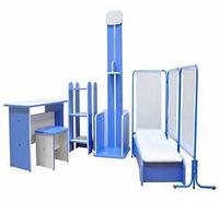 Набор игровой мебели «Поликлиника» (6 предметов)