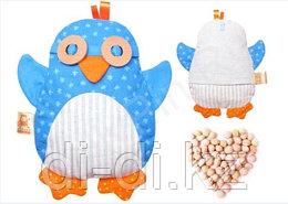 Игрушка «Доктор Мякиш-Пингвин» с вишневыми косточками