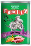 Clan Family 415г влажный корм для каждодневного питания котят и беременных кошек, фото 1
