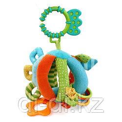 """Развивающая игрушка-шарик с прорезывателем """"Первые друзья"""""""