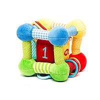 """Развивающая игрушка """"Кубик"""" с игрушкой внутри, фото 1"""