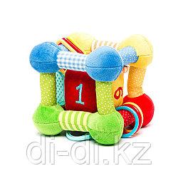 """Развивающая игрушка """"Кубик"""" с игрушкой внутри"""