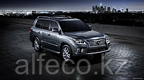 Защита картера и рулевых тяг Lexus-LX 570 all 2007- алюминий