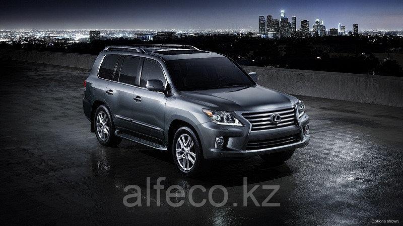 Защита КПП и раздатка Lexus-LX 570 all 2007- алюминий