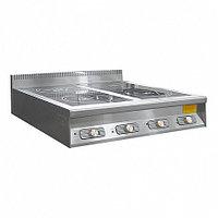 Плита индукционная ПЭИ-40-3,5 (полностью нерж.) (915х900х330 мм)