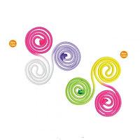 Скакалка гимнастическая нейлоновая трехцветная  Sasaki М-280G 3,0 м., фото 1
