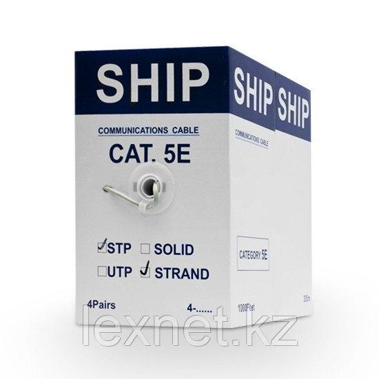 Кабель сетевой, SHIP, D145S-P, Cat.5e, FTP, 4x2x7/0.16мм, 305 м/б, PVC, (Экранированный, Многожильный)