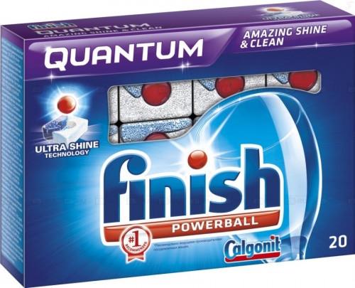 Моющее для посудомоечных машин Финиш Finish Quantum 20шт таблетки