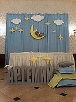 Оформление зала в стиле мишки Тедди
