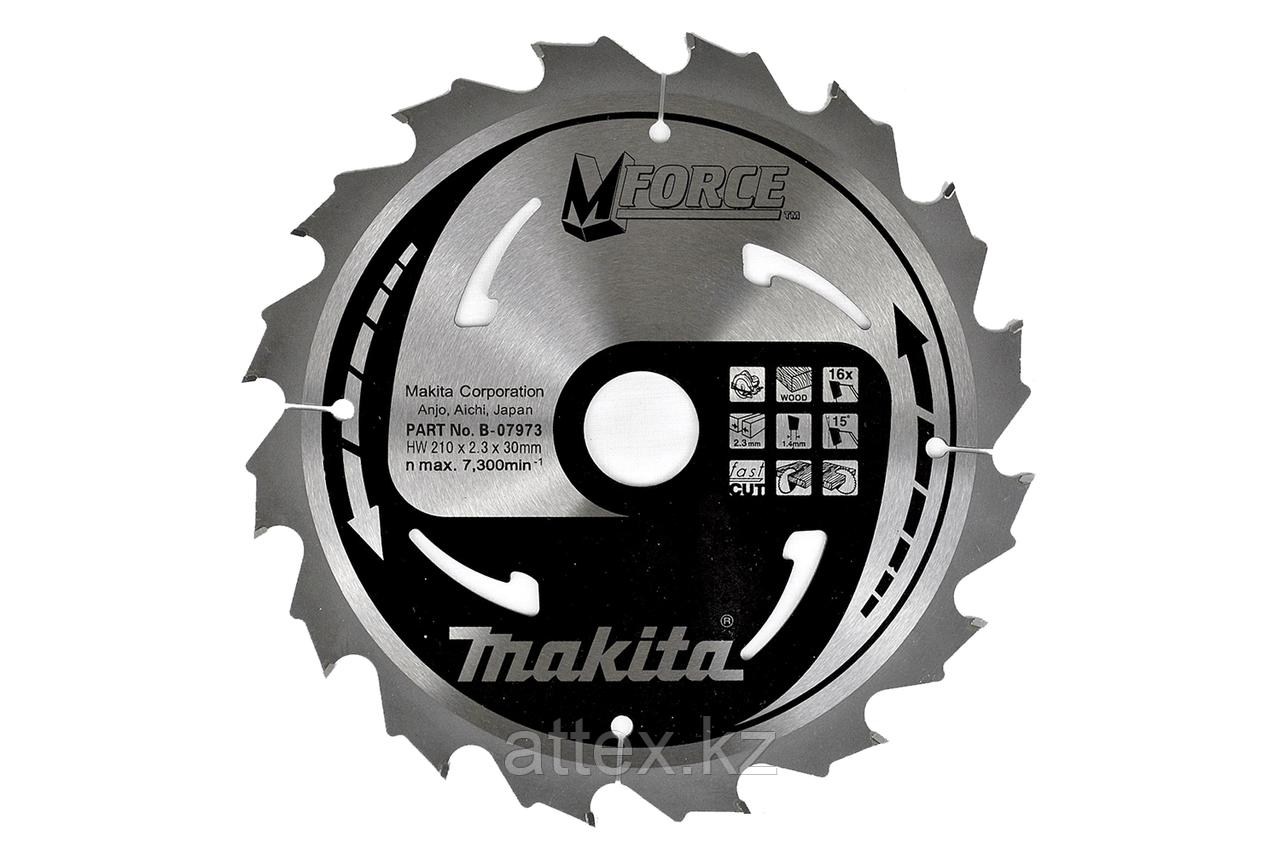 Пильный диск по дереву Makita M-FORCE 165*20*2 мм/10