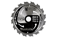 Пильный диск по дереву Makita M-FORCE 185*30*2 мм/16