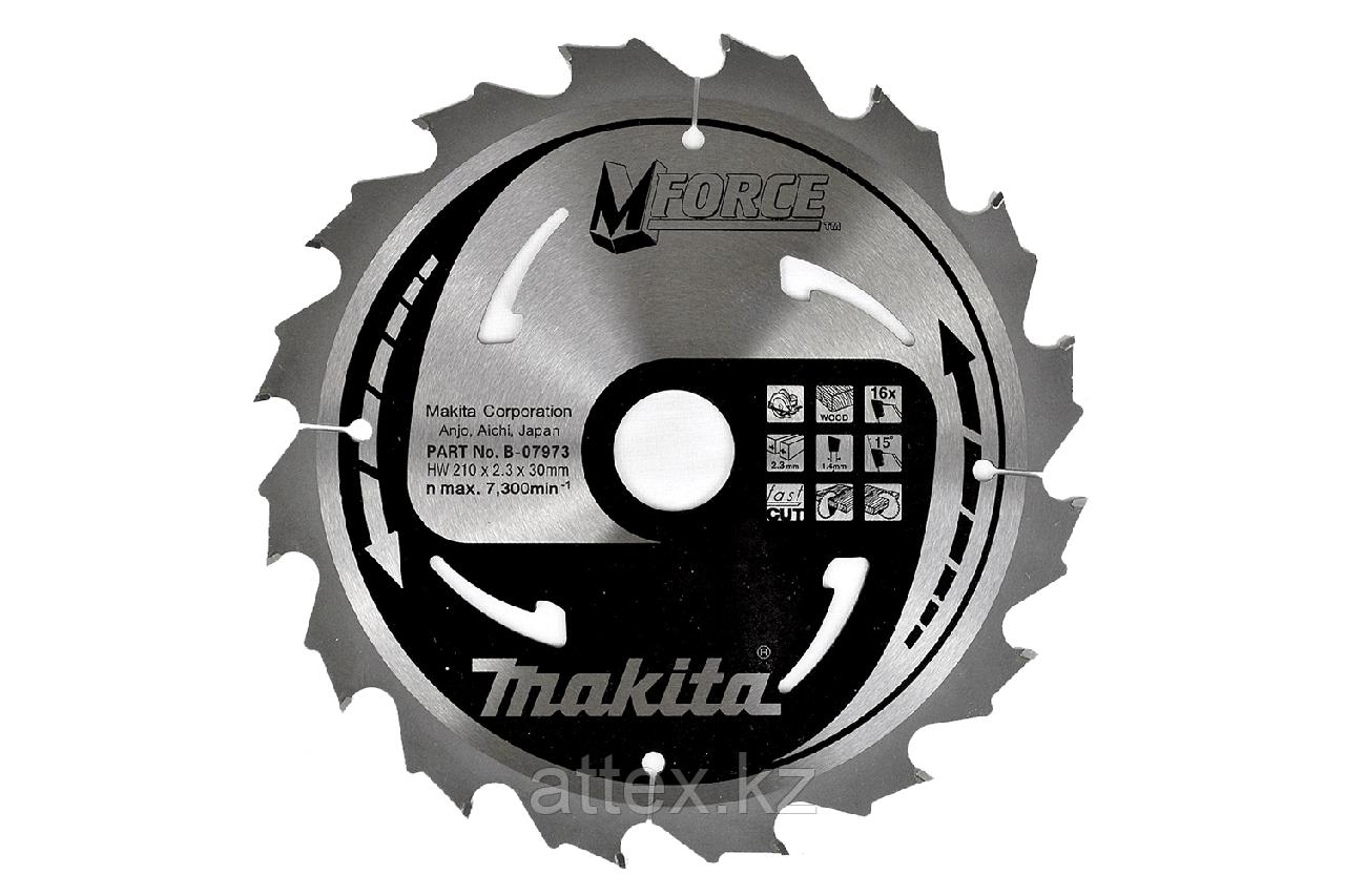 Пильный диск по дереву Makita M-FORCE 235*30*2,3 мм/24