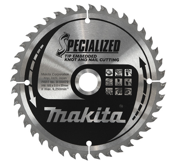 Диск Makita, для демонтажных работ 190*30*2 мм /16