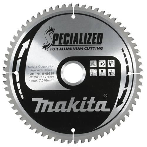 Диск по алюминию Makita 190*30/20/15,88*2,4 мм /60, 0°, TCG