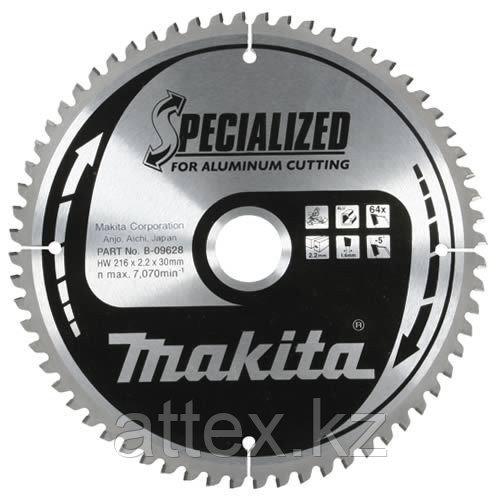 Диск по алюминию Makita 210*30*2,4 мм /60, 0°, TCG