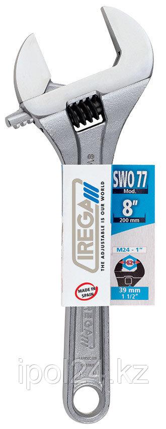 Разводной ключ IREGA SWO 77/CE - 8, раскрытие 39мм