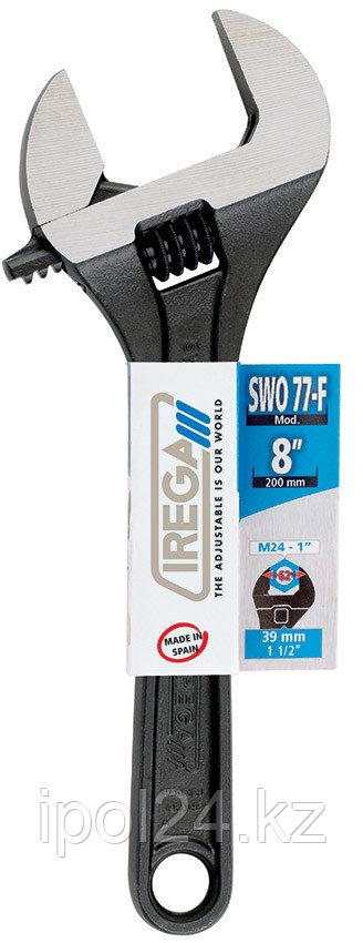 Разводной ключ IREGA SWO 77-F/CE- 8, раскрытие 39мм