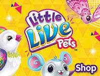 Little Live Pets / Интерактивные птички, бабочки,черепашки , мышки, пауки