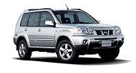 Защита заднего бампера Nissan X-Trail(T31) all 2007-