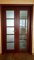 Межкомнатная двупольная дверь