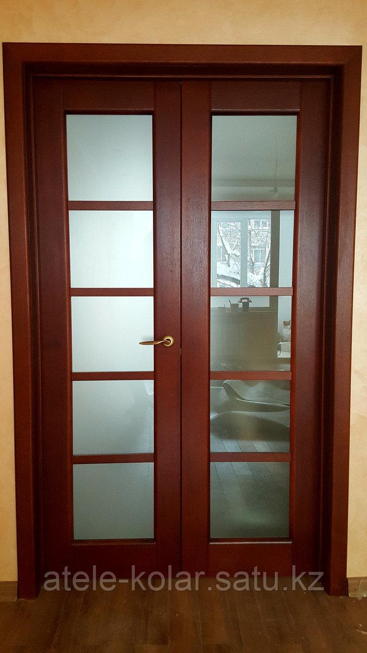 Межкомнатная двупольная дверь - фото 1