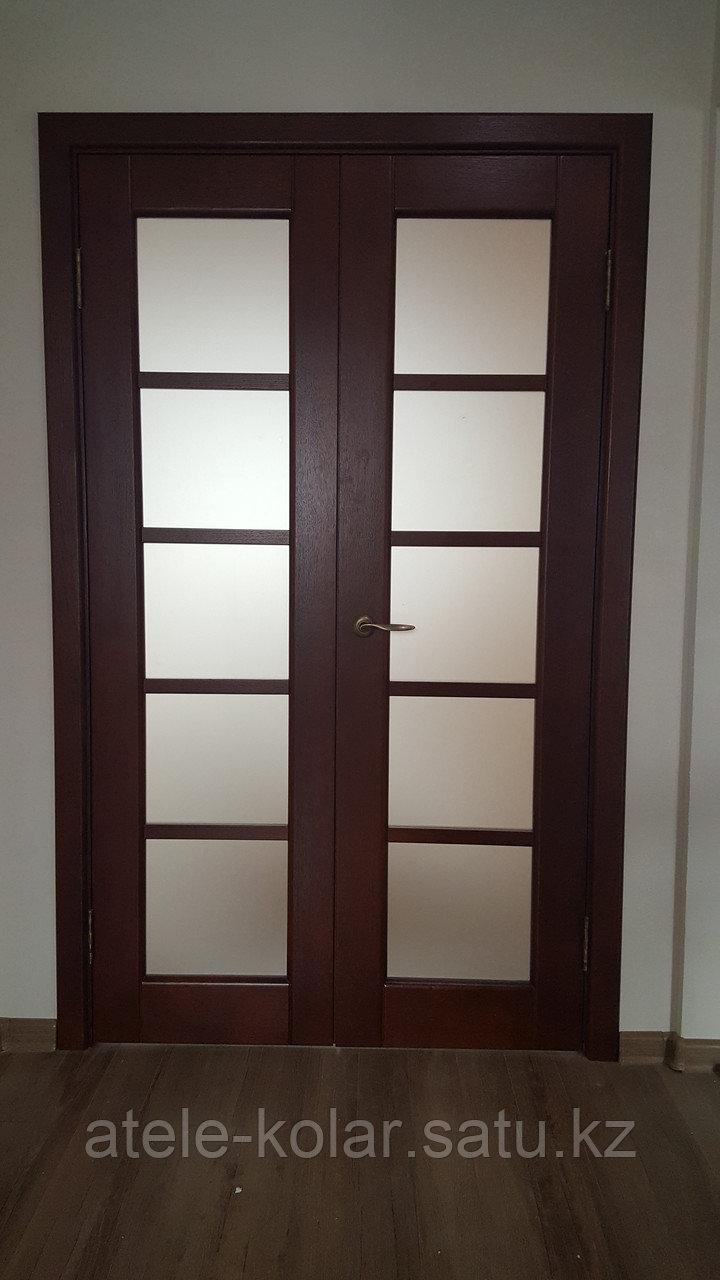 Межкомнатная двупольная дверь - фото 3