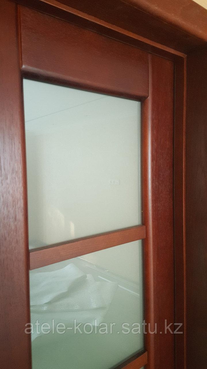 Межкомнатная двупольная дверь - фото 4